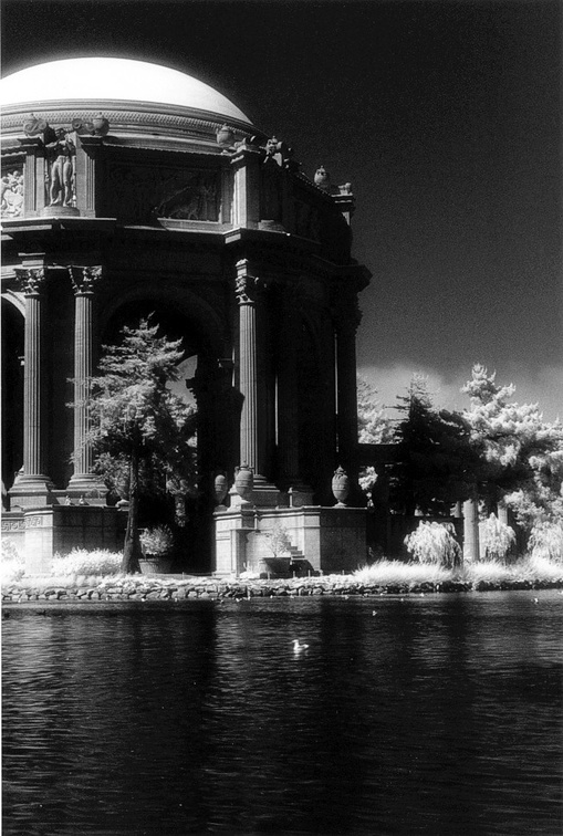 Palace of Fine Arts (infrared) (105040-10)